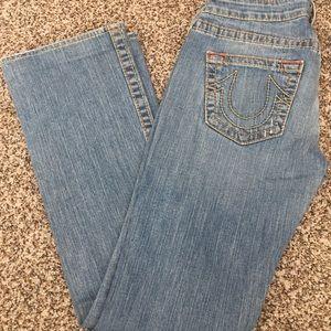 True Religion Johnny Big T Jeans 28